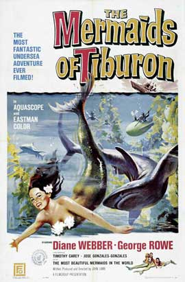 Mermaids of Tiburon - 27 x 40 Movie Poster - Style A