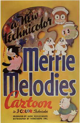 Merrie Melodies - 11 x 17 Movie Poster - Style B