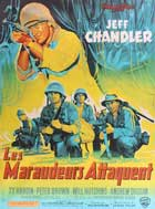 Merrill's Marauders - 27 x 40 Movie Poster - French Style A