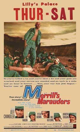 Merrill's Marauders - 11 x 17 Movie Poster - Style B