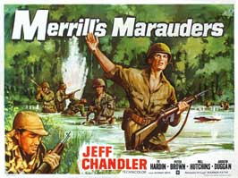 Merrill's Marauders - 27 x 40 Movie Poster - UK Style A