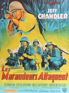 Merrill's Marauders - 11 x 17 Movie Poster - French Style B