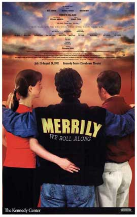 Merrily We Roll (Broadway) - 27 x 40 Poster - Style A