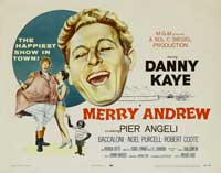 Merry Andrew - 22 x 28 Movie Poster - Half Sheet Style A