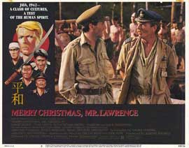 Merry Christmas, Mr. Lawrence - 11 x 14 Movie Poster - Style B