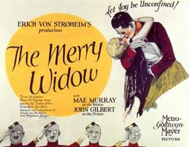 Merry Widow - 11 x 14 Movie Poster - Style A