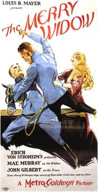 Merry Widow - 43 x 62 Movie Poster - Bus Shelter Style A