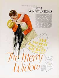 Merry Widow - 11 x 17 Movie Poster - Style B