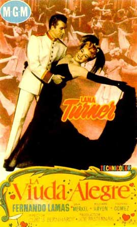 The Merry Widow - 11 x 17 Movie Poster - Spanish Style A