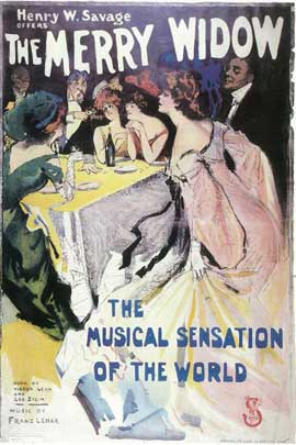 Merry Widow, The (Broadway) - 14 x 22 Poster - Style A