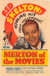 Merton of the Movies - 43 x 62 Movie Poster - Bus Shelter Style A