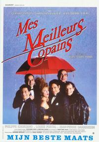Mes meilleurs copains - 27 x 40 Movie Poster - Belgian Style A