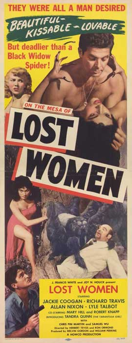 Mesa of Lost Women - 11 x 17 Movie Poster - Style A