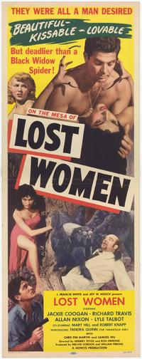 Mesa of Lost Women - 14 x 36 Movie Poster - Insert Style A