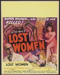 Mesa of Lost Women - 27 x 40 Movie Poster - Style B