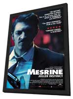 Mesrine: Killer Instinct - 11 x 17 Movie Poster - Style A - in Deluxe Wood Frame