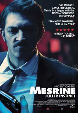 Mesrine: Killer Instinct - 43 x 62 Movie Poster - Bus Shelter Style A
