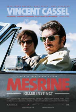 Mesrine: Killer Instinct - 27 x 40 Movie Poster