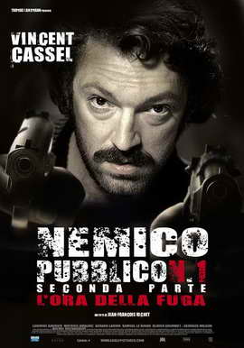 Mesrine: Part 2 - Public Enemy #1 - 27 x 40 Movie Poster - Italian Style A