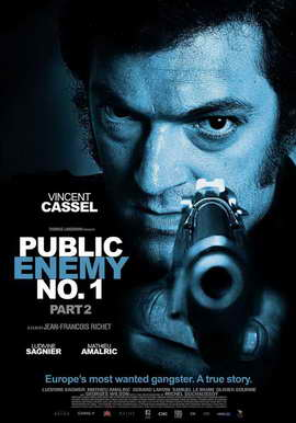 Mesrine: Part II - Public Enemy #1 - 11 x 17 Movie Poster - Style A