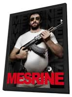 Mesrine: Public Enemy No. 1 - 27 x 40 Movie Poster - Style A - in Deluxe Wood Frame
