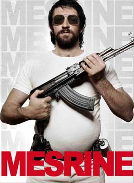 Mesrine: Public Enemy No. 1 - 11 x 17 Movie Poster - Style B