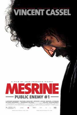 Mesrine: Public Enemy No. 1 - 27 x 40 Movie Poster - Style C