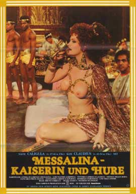 Messalina, Empress of Rome - 11 x 17 Movie Poster - German Style A