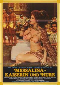 Messalina, Empress of Rome - 27 x 40 Movie Poster - German Style A