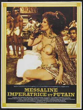 Messalina, Empress of Rome - 27 x 40 Movie Poster - French Style A