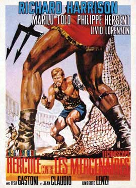 Messalina vs. the Son of Hercules - 11 x 17 Movie Poster - French Style A