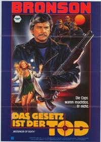 Messenger of Death - 11 x 17 Movie Poster - German Style A