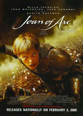 The Messenger: The Story of Joan of Arc - 11 x 17 Movie Poster - Style C