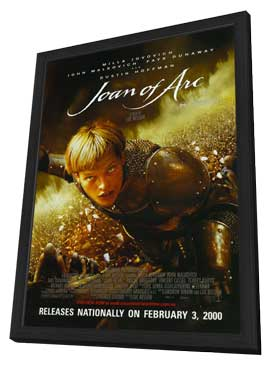 The Messenger: The Story of Joan of Arc - 11 x 17 Movie Poster - Style C - in Deluxe Wood Frame