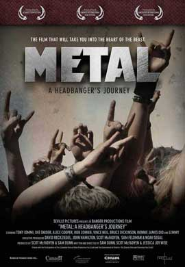 Metal: A Headbanger's Journey - 27 x 40 Movie Poster - Style A