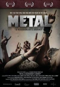 Metal: A Headbanger's Journey - 43 x 62 Movie Poster - Bus Shelter Style A