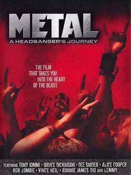Metal: A Headbanger's Journey - 11 x 17 Movie Poster - Style B