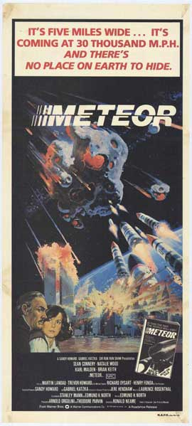 Meteor - 11 x 17 Movie Poster - Style D