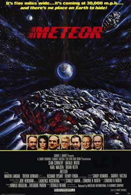 Meteor - 27 x 40 Movie Poster - Style A