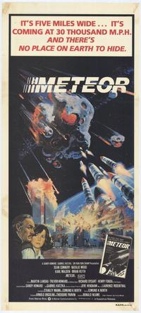 Meteor - 27 x 40 Movie Poster - Style D