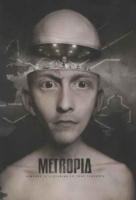 Metropia - 11 x 17 Movie Poster - Style A