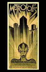 Metropolis - 11 x 17 Movie Poster - German Style B