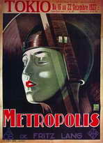 Metropolis - 11 x 17 Movie Poster - French Style C