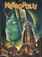 Metropolis - 11 x 17 Movie Poster - Style E