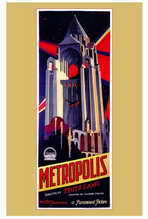 Metropolis - 27 x 40 Movie Poster - Style A