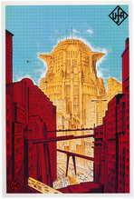 Metropolis - 27 x 40 Movie Poster - German Style A