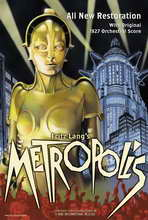 Metropolis - 11 x 17 Movie Poster - Style H