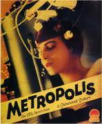 Metropolis - 27 x 40 Movie Poster - Style H