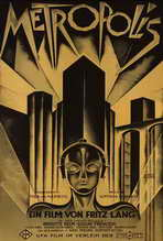 Metropolis - 27 x 40 Movie Poster - German Style D