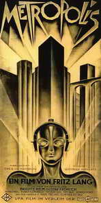 Metropolis - 20 x 40 Movie Poster - German Style A